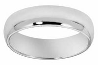 Men's 6mm Comfort Fit Wedding Band in PLATINUM