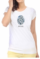 Oval Diamond Shape T-Shirt