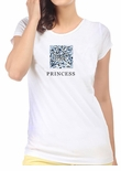 Princess Cut Diamond Shape T-Shirt