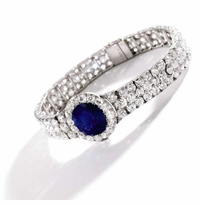 Round Blue Sapphire Synthetic Loose Stones