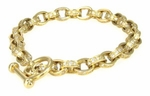 Tempest Toggle Bracelet Featuring Ziamond Cubic Zirconia