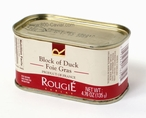 Block of Duck Foie Gras Fully Cooked by Rougie (France), 4.76 oz