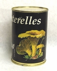 Chanterelle Mushroom in Water (14 oz) by Plantin, France