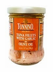 Tuna Fillets in Olive Oil with Garlic