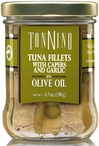 Tuna Fillet with Capers and Roasted Garlic 6.7 Oz Jar