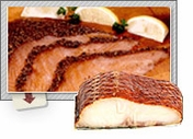Gourmet Fish - Salmon, Sturgeon, Mackerel, Whitefish, Tuna