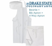 Drake State Hat & Apron Accessories Pack