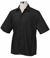 Black Universal Cook Shirt with Cool Vent (Men's)