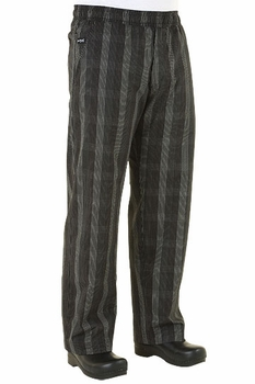 UltraLux BETTER BUILT BAGGY BLACK PLAID Better Built Baggy Chef Pants