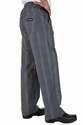 UltraLux BETTER BUILT BAGGY GRAY PLAID Chef Pants