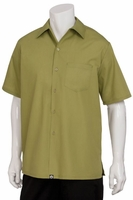 Cafe Shirt - Lime Green