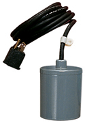 RFSN-10 - Piggyback Remote (wide angle) Float Switch - 115/230 Volts - 1/2-1 Horsepower - 25ft Power Cord