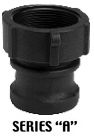 "Gator Lock ""A"" Series - Male Adapter - 1-1/2"" Female Thread"
