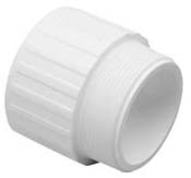 "2"" MIPT x 2"" Slip - Male Adapter - 436-020"