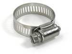 "Stainless Steel Hose Clamp - 1/2"" - 23/32"""