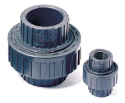 "1-1/2"" FPT Threaded PVC Union"