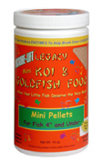 MICROBE-LIFT - Mini Koi & Goldfish Food Pellets - 12 oz.