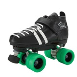 Riedell Wicked Quad Skate- Black or White. FREE SHIPPING!!