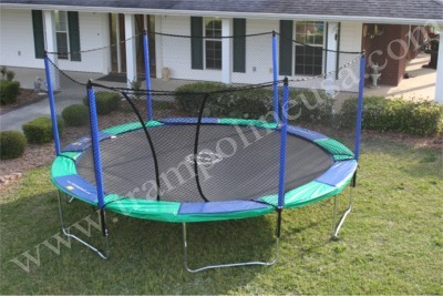 "15' AIRMASTER Trampoline and Enclosure ""SUPER COMBO"" (Shipping Included)"