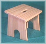 Slanted Rocker Stool