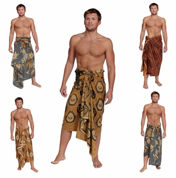 Traditional FRINGELESS Cotton Assorted Sarongs for Mens