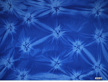 "Mens Sarong ""Blue / Light Blue"" Smoked"