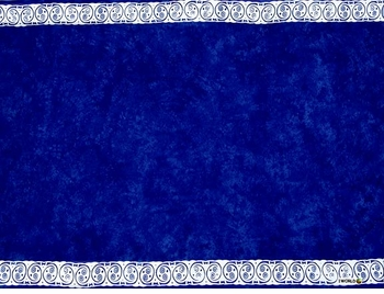 "Celtic Tribal Border Mens Sarong ""Cool Blue"""