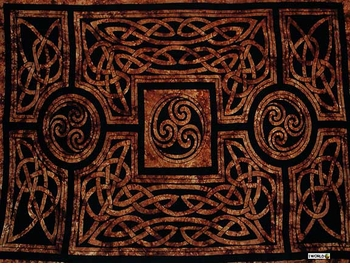 "Celtic Circles ""Brown"""