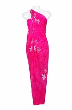 "Starfish Sarong ""Hot Pink"""