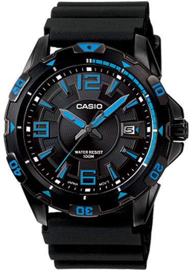 Casio Men's Black  Diver's Watch MTD-1065B-1A1V at Sears.com