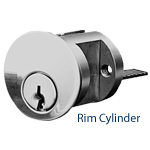 Rim Cylinder Or Mortise Cylinder