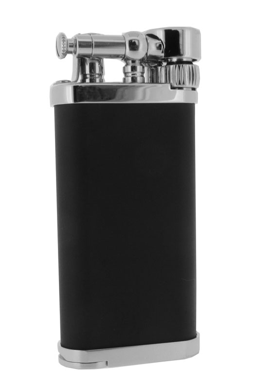 Corona Old Boy Black and Chrome Pipe & Cigar Lighter