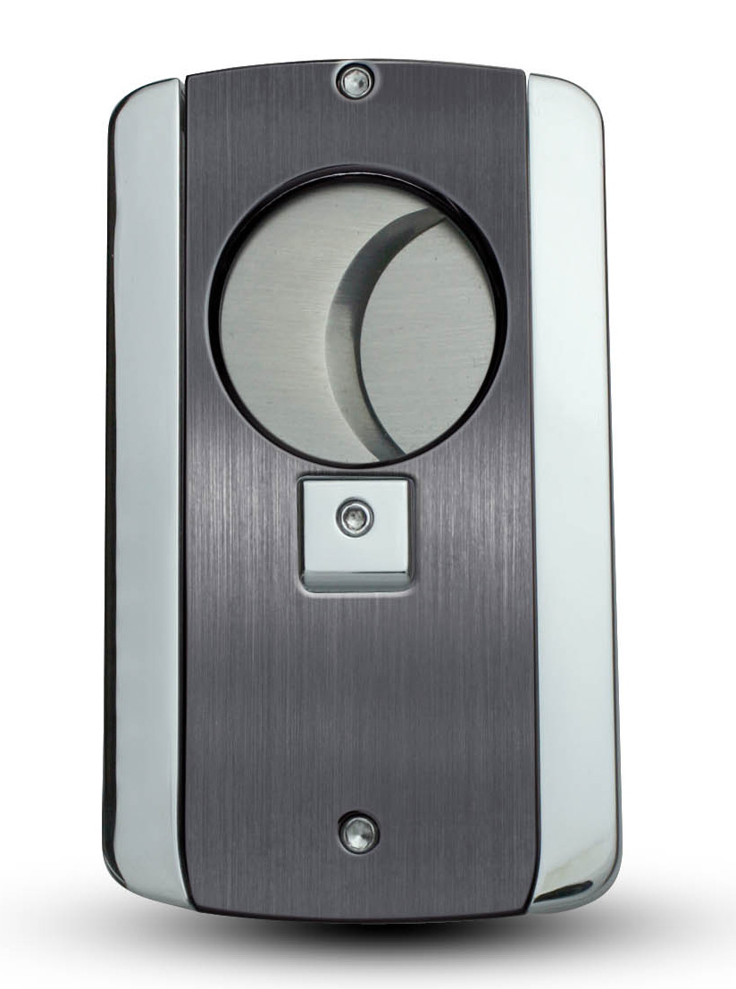Visol Axe Satin Gunmetal Personalized Cigar Cutter