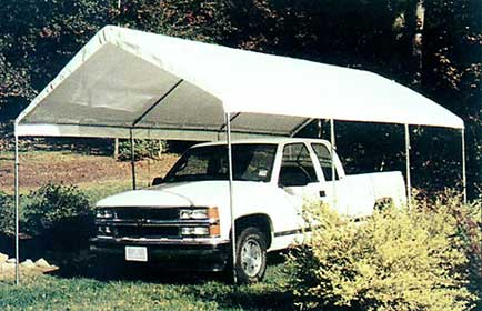 Click to enlarge & UNIVERSAL CANOPY 10x20 ... Covers Jet Skies Motorcycles Or Any Of ...