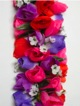 Full Shell Ginger leis - Purple /orange #18