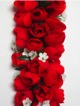 Full Shell Ginger leis - Red #29