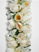 Full Shell Ginger leis - white /yellow #40