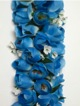 Full Shell Ginger leis - Blue #3