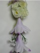 Tuberose lei #24 light purple