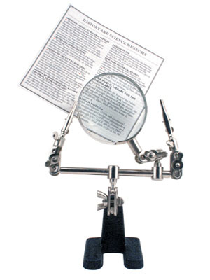 "Adjustable ""Little Helper"" Magnifying Glass With clips"