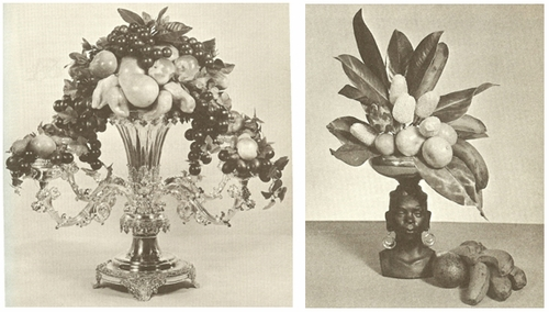 Fruit And Vegetable Arrangements 1963
