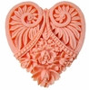 Heart Cameo Magnetic Needle Minder