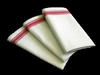 Red Stripe Dish Towel 3 Pack To Embroider