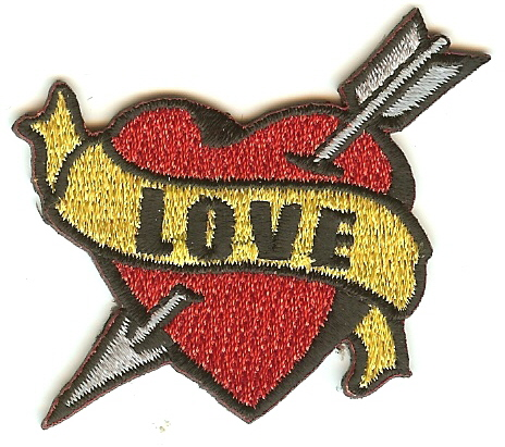 """""""Love"""" Patch"""