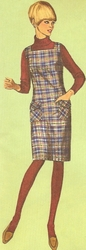 Vintage Sewing Patterns For Dresses 1960's