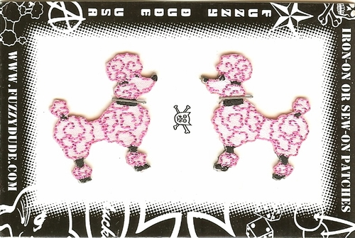 Mini Satin Poodle Set