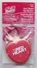 Red Heart Retractable Measuring Tape