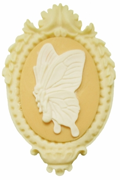 Butterfly Cameo Magnetic Needle Minder