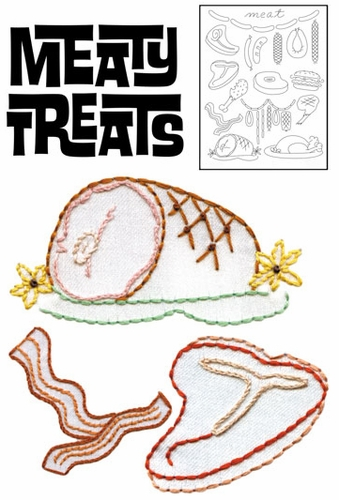 """Sublime Stitching """"Meaty Treats"""""""