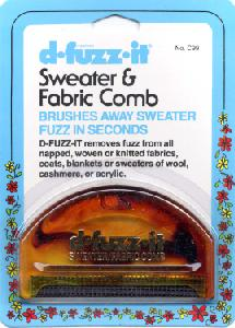 Collins Sweater and Fabric Comb